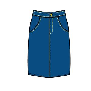 スカートのカジュアルコーデ