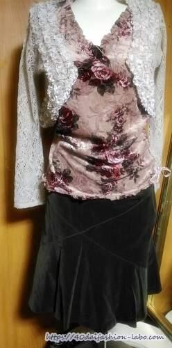 大人可愛いファッション